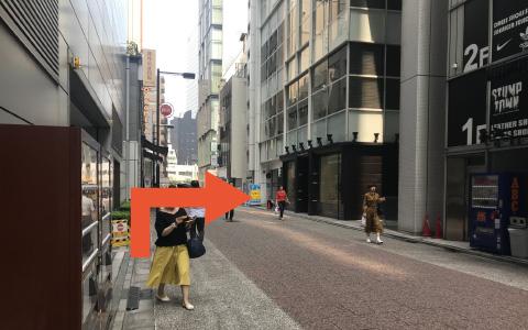 銀座中央通りから近くて安い【機械式】銀座並木通りビル駐車場