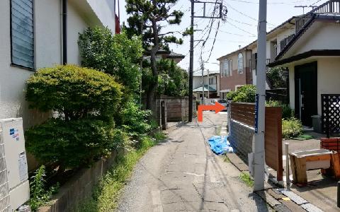 鶴岡八幡宮から近くて安い《バイク専用》小町2-5-17駐車場
