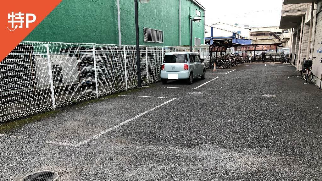 三鷹から近くて安いエクリーンミタカⅡ駐車場