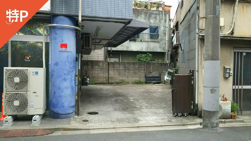 浅草寺から近くて安い浅草5-17-4駐車場