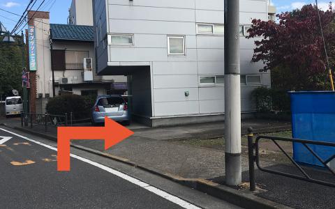 調布から近くて安い【味スタ徒歩圏・保恵学園前】富士見町1-30-27駐車場