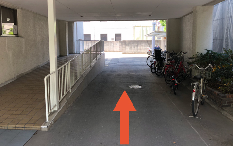 西京極スタジアムから近くて安いナカジマンション駐車場