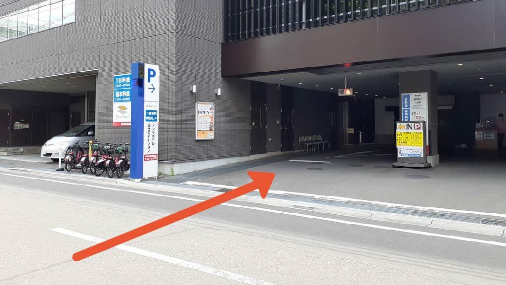 楽天生命パーク宮城から近くて安い【ハイルーフ】テンザホテル・仙台ステーション