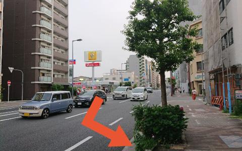 大阪城から近くて安い【大阪城ホール】片町1-9-37駐車場