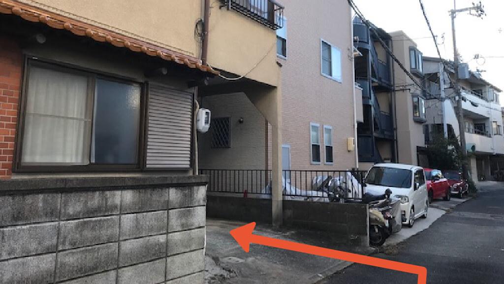 大阪国際空港から近くて安い《軽・コンパクト》住吉2-2-14駐車場