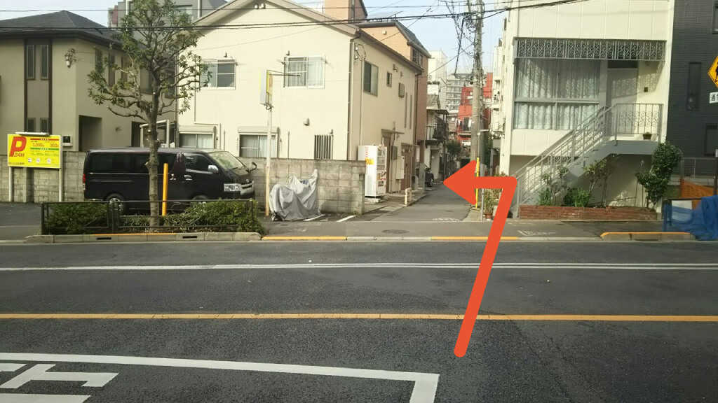 東京ドームシティから近くて安い《バイク専用》西片2-24-10駐車場