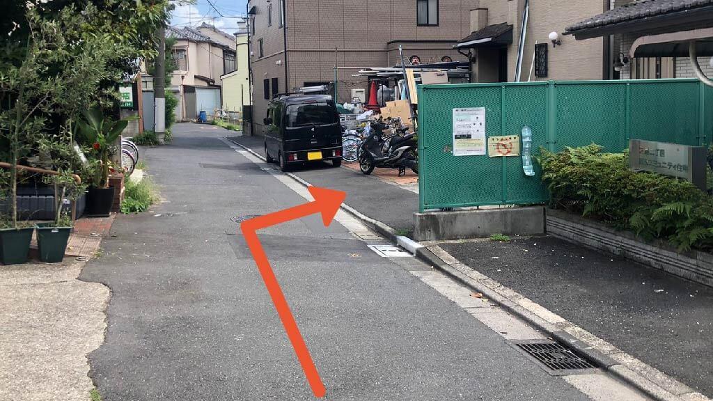 東京スカイツリーから近くて安い《バイク専用》京島2-16-7駐車場