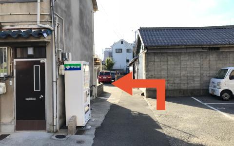 阪神甲子園球場から近くて安い《軽専用》大半店前モーター駐車場