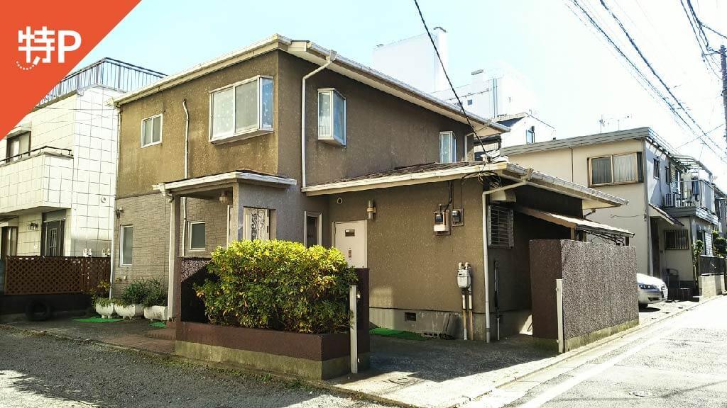 恵比寿ガーデンプレイスから近くて安い《軽自動車》下目黒4-1-13駐車場