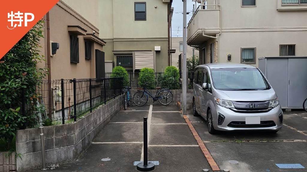 三鷹から近くて安い井口2-4-17駐車場