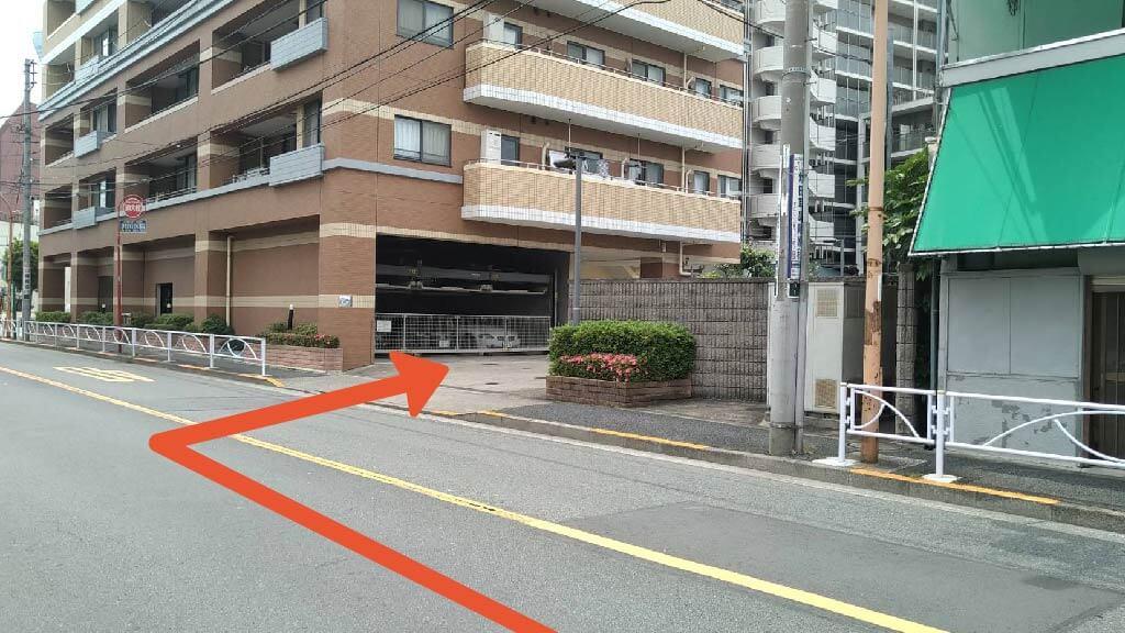 東京スカイツリーから近くて安い八広1-26-16駐車場