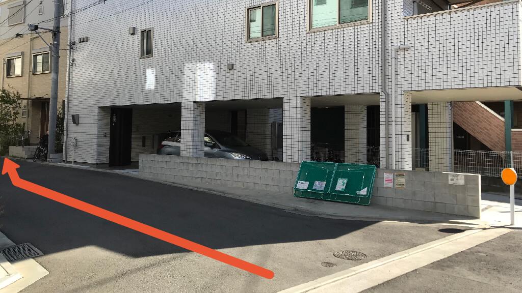 新横浜から近くて安い《長さ430㎝以下》大豆戸町駐車場