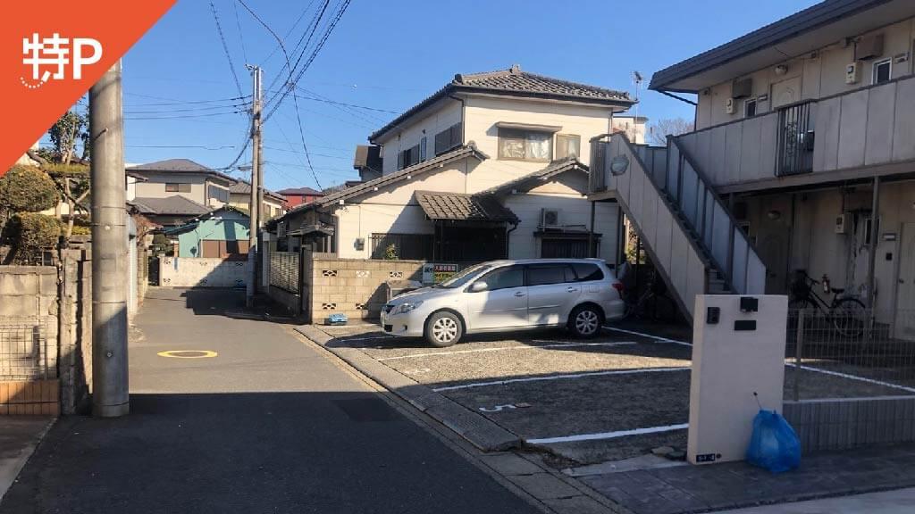 千葉神社から近くて安い亀岡町5-3駐車場