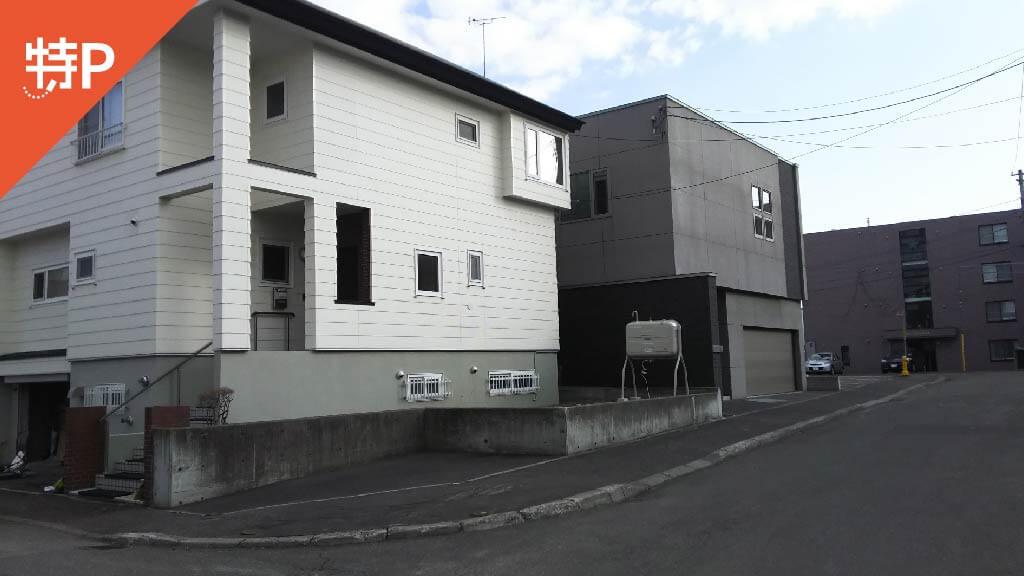 札幌ドームから近くて安い【軽自動車】月寒東二条18-10-9駐車場