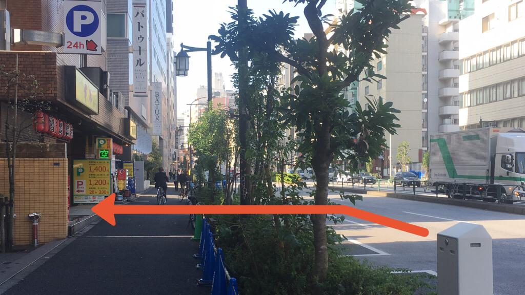 新宿から近くて安い歌舞伎町2-4-11駐車場