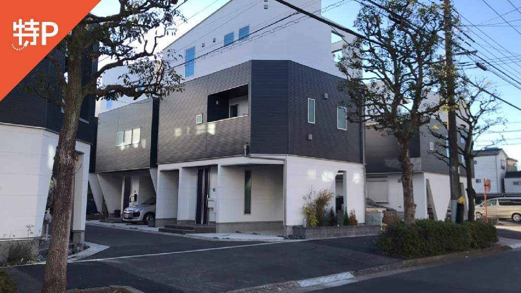 ボートレース江戸川から近くて安い松江7-24-2駐車場
