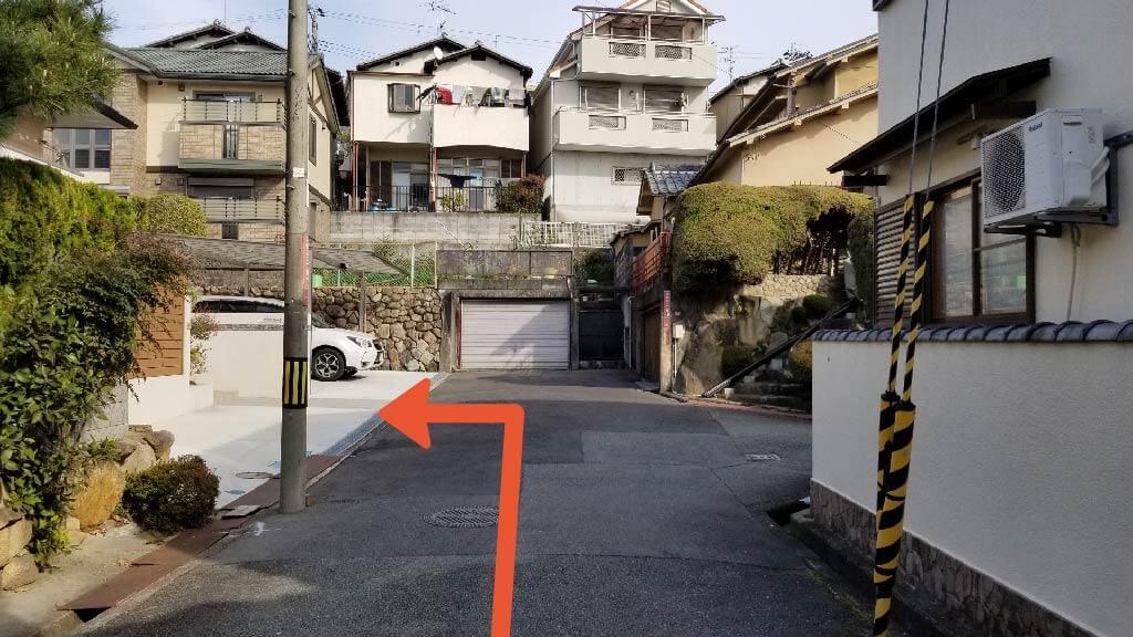 大阪国際空港から近くて安い清風荘2-7-2駐車場