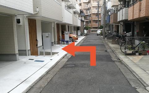 蒲田から近くて安い《バイク専用》東六郷1-3-3付近駐車場