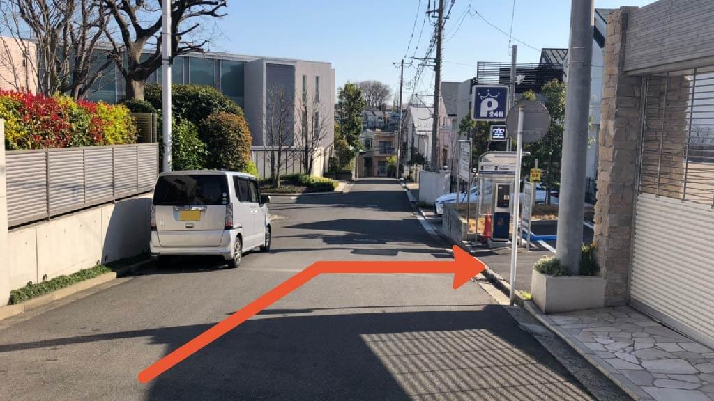横浜スタジアムから近くて安い山手町225-43付近駐車場