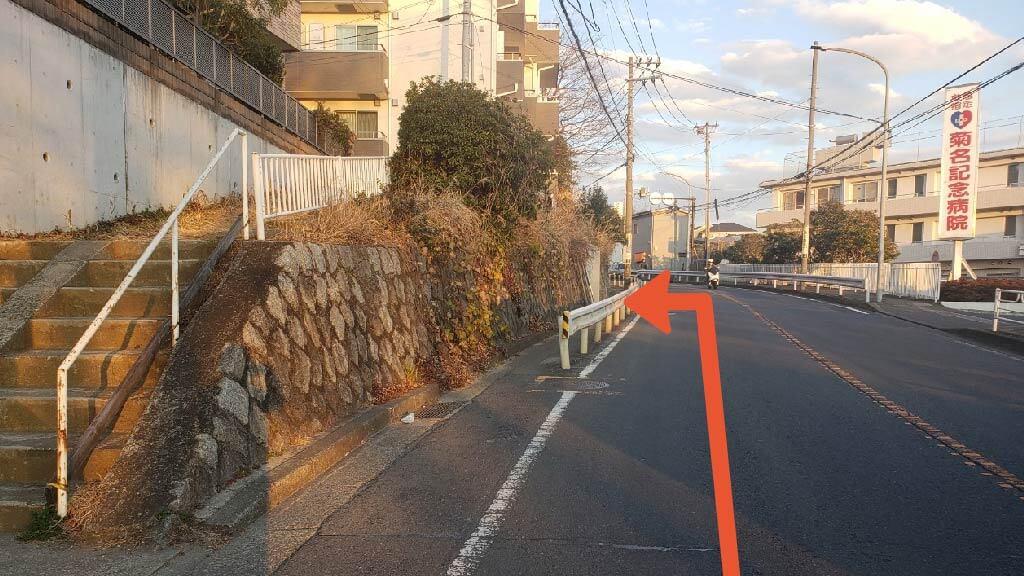 新横浜から近くて安い菊名5-5-40付近駐車場
