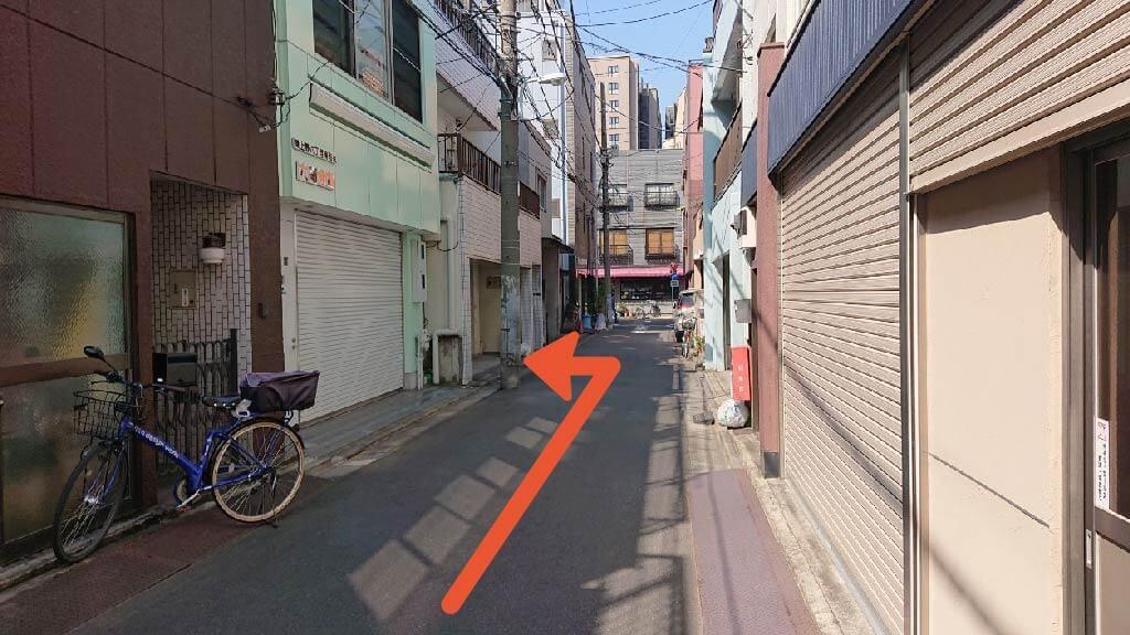 浅草寺から近くて安い《バイク専用》桜井マンション駐車場