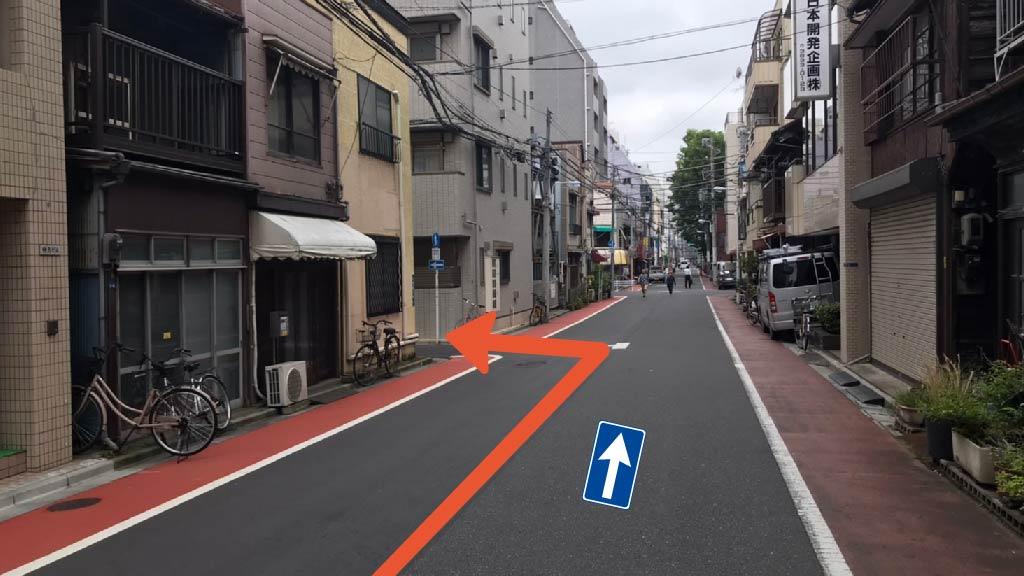 上野動物園から近くて安い東上野3丁目1-3駐車場