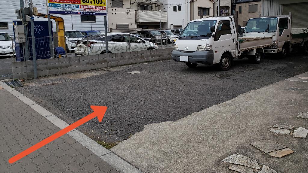 ヤンマースタジアム長居から近くて安い鷹合3-1-34駐車場