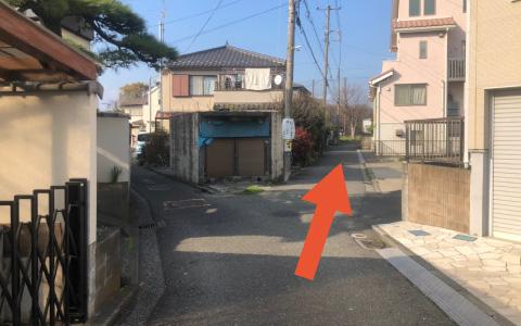野島公園から近くて安い《バイク専用》野島町6-12駐車場