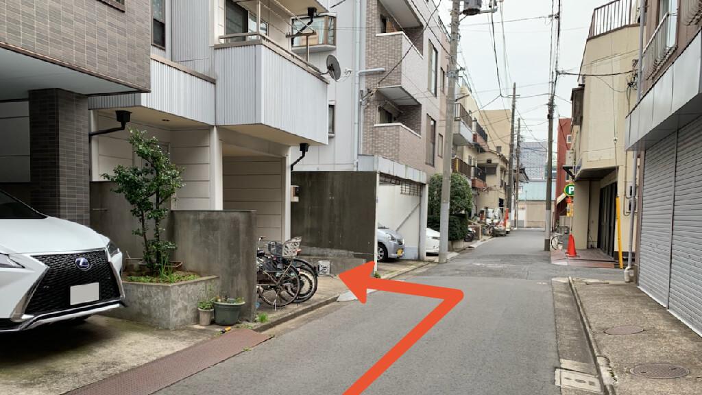 錦糸町から近くて安い《軽自動車》横川1-12-4駐車場