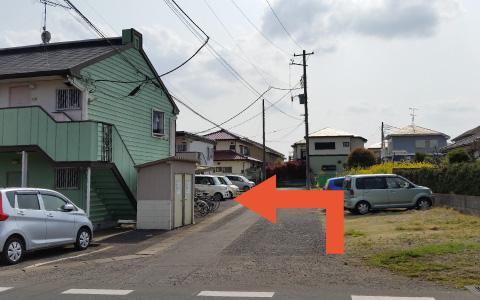 成田山新勝寺から近くて安い《原付・バイク》並木町136-35_コーポM駐車場