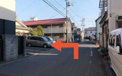 大杉天祖神社から近くて安い《バイク専用》新小岩4-21-3駐車場