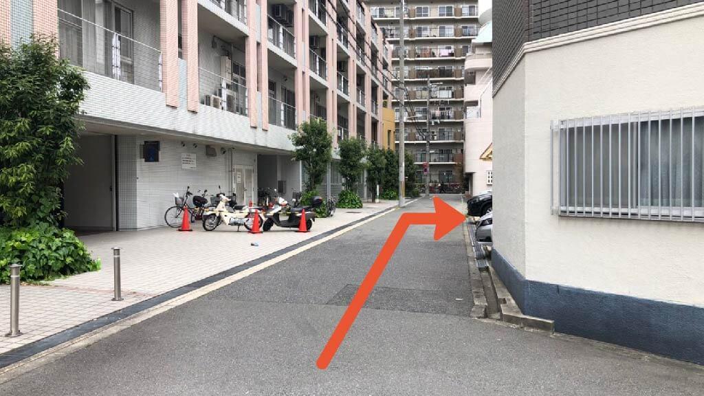 大阪市立科学館から近くて安い江之子島1-3-5駐車場