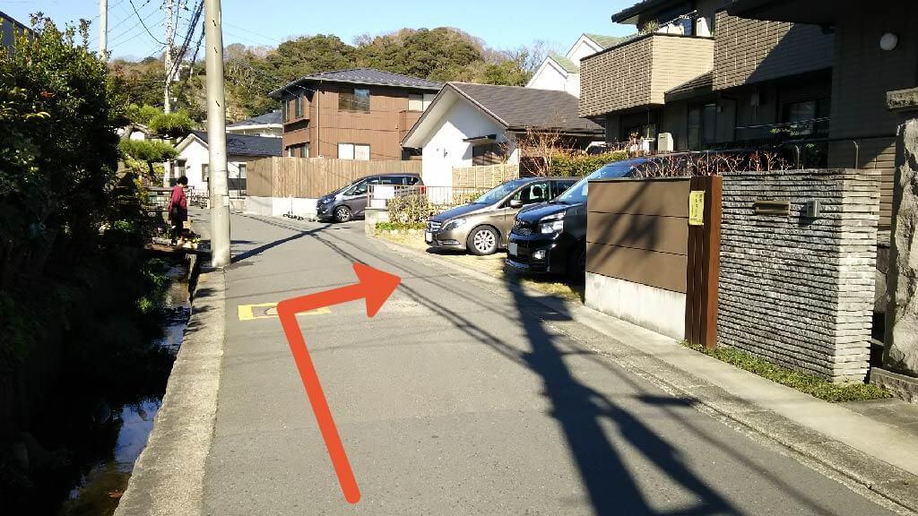小町通りから近くて安い【鎌倉観光】扇ガ谷2-9-8駐車場