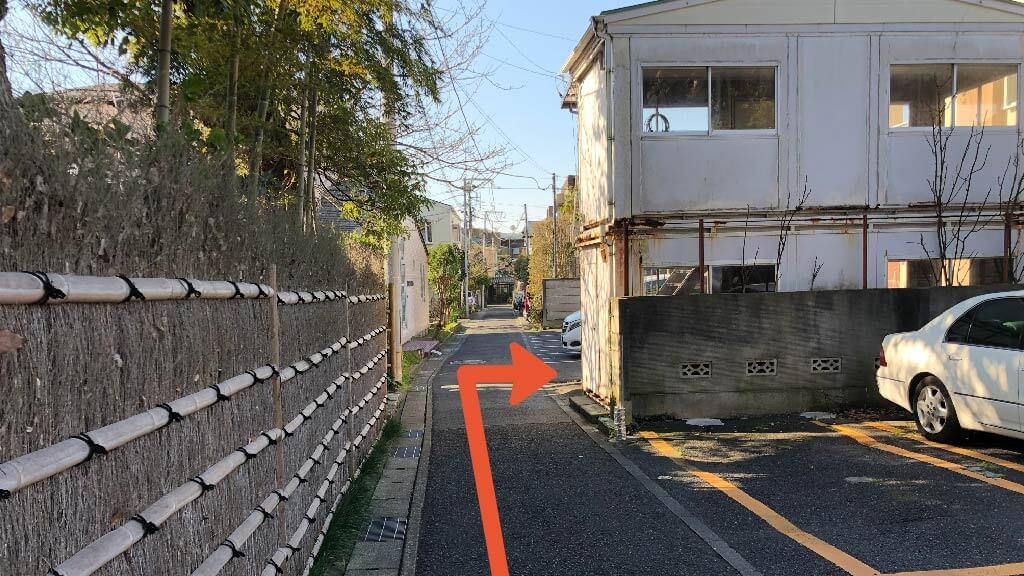 鶴岡八幡宮から近くて安い《軽・コンパクト》雪ノ下1-3-25駐車場