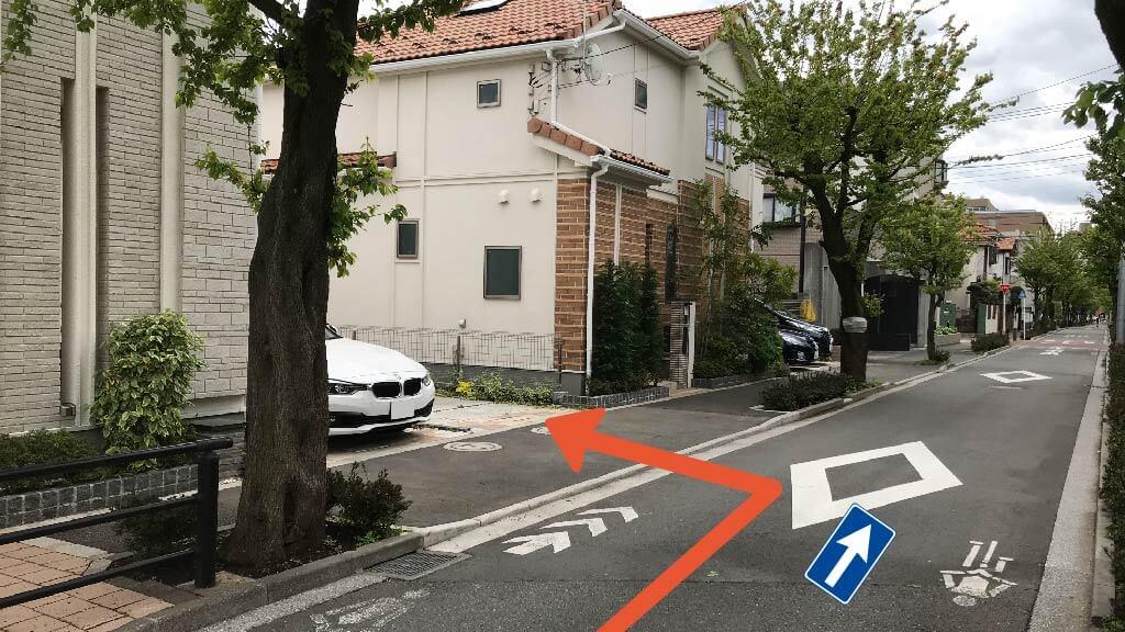 東京競馬場から近くて安い緑町2-21-28駐車場